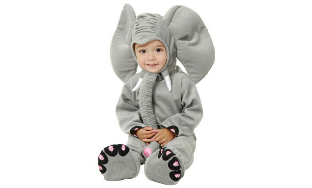 Toddler and Baby Elephant Costumes