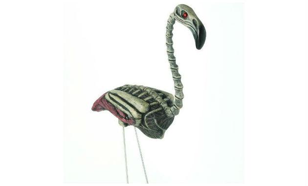 Flamingo Zombie Lawn Ornaments