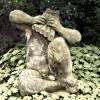 Faun Statue Playing Pipes