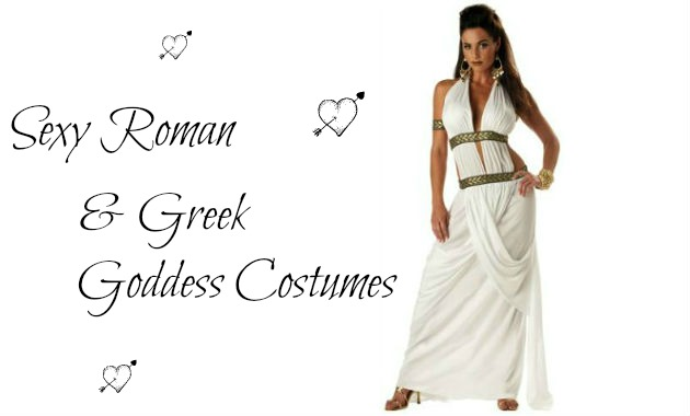 Sexy Roman and Greek Goddess Costumes