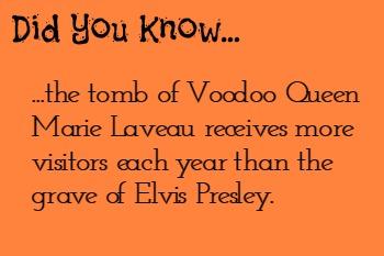 Voodoo - Marie Laveau Trivia