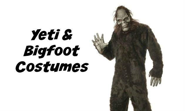 Yeti and Bigfoot Costumes