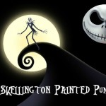 Jack SKellington Pumpkin, Painted Pumpkins, Nightmare Before Christmas Pumpkins