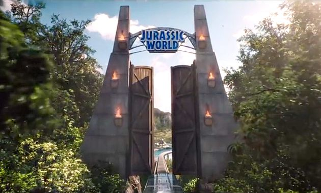 Jurassic World Gates