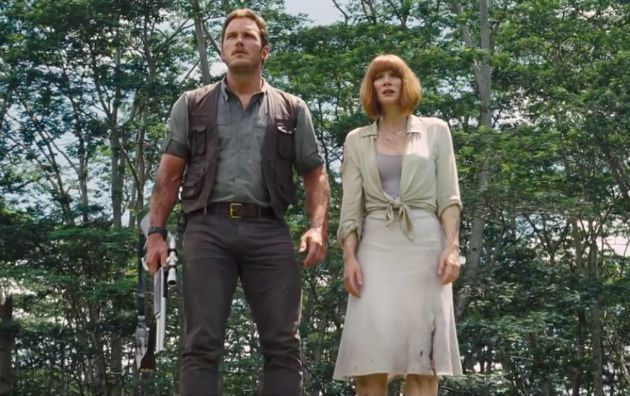 Claire and Owen - Jurassic World Costumes