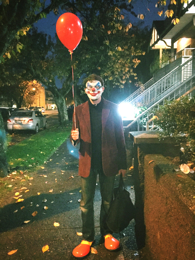 DIY Pennywise Clown Costume