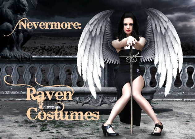 Nevermore Raven Costumes for Women and Men